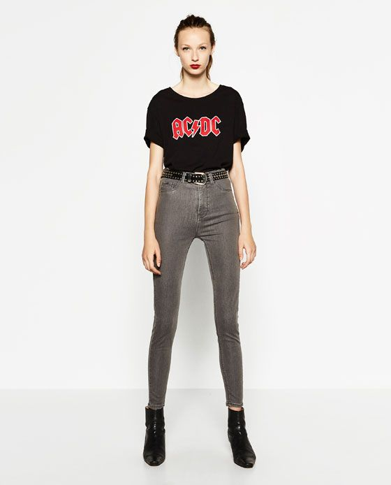 Image 1 of HIGH WAISTED JEGGINGS from Zara