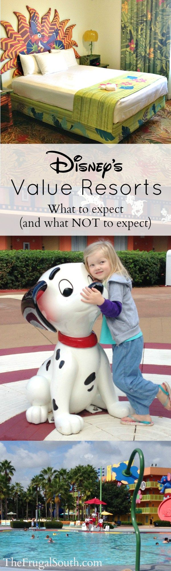 Disney World Value Resorts offer incredible bang for the buck, but they aren't for everyone! Here's what to expect at Disney's Value Resorts in terms of rooms, amenities, transportation, cost and more.