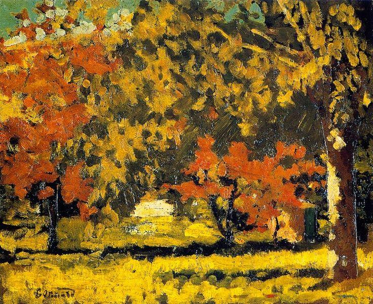 Pierre Bonnard (French, 1867–1947) - The Grand-Lemps, Autumn, 1894