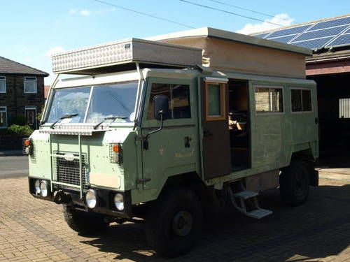Land Rover 101 Popup Camper For Sale (1972)