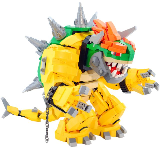 "FTA: ""Evergreen, Colorado LEGO enthusiast Zane Houston has custom built an incredible looking Mecha Bowser entirely out of LEGO for the Like A Boss contest on Flickr."" Like a boss indeed...holy cow! All we need is a Lego Mario and a Lego Fire Flower... (via Laughing Squid)"