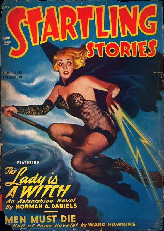 Pulp magazine cover artist Earle K. Bergey (August 26, 1901 – 1952) was renowned for his pictures of glamourous space maidens in impracti...
