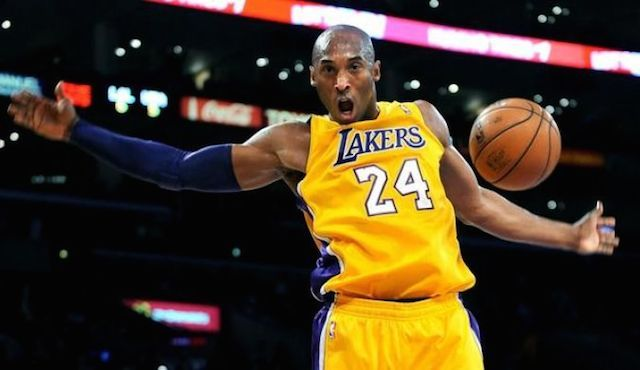 Kobe Bryant during a match....