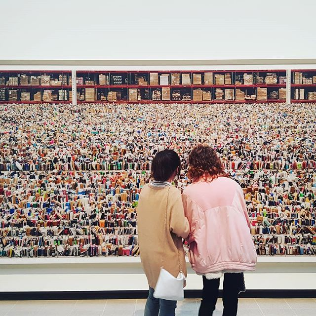 Rainy days at the Hayward Gallery! London is Art! #london #art #gallery #southbank #waterloo #lovelondon #loveart #incrediblephotography #scale #gursky #wandering #observing #exhibition #behindthescenes