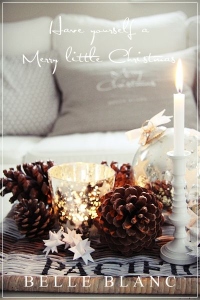 BELLE BLANC: Have yourself a Merry little Christmas For the Love of White