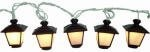 Grandrich Corp-Import Fs Wht Lantern Lgt Set Ac-234-Fs Accent & Patio Lighting by Grandrich. $10.80. Four Seasons, 10 Light, White, Empire Lantern Outfits String Light Set, 10 Mini Bulbs Included, 94' Overall Wire Length, White Cord, 24' Lead In, 7' Bulb Spacing, 7' Lead Out 7', Indoor & Outdoor Use With End Outlet, 4 Spare Bulbs & 1 Spare Fuse Included, UL Listed, Clear Acetate Box.. Save 23%!