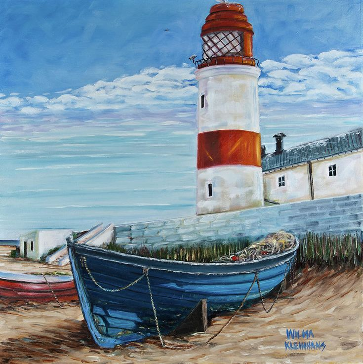 Watercolor Paintings of Lighthouses | Lighthouse Painting - Lighthouse Fine Art Print
