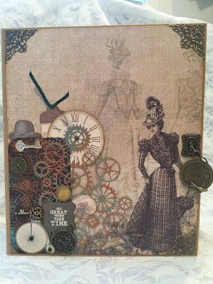 Crafting Passions: Having Fun making a Steampunk Album!