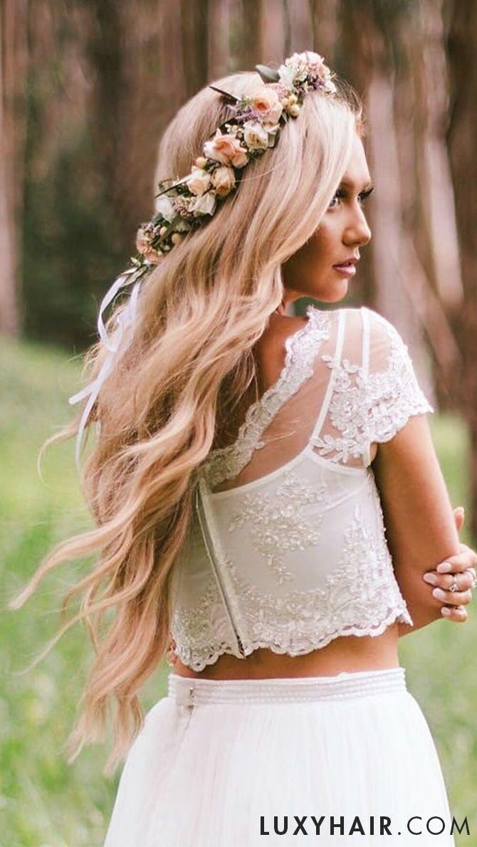 "dirty blonde - 20"" (220g)   wedding hair inspiration in 2019"