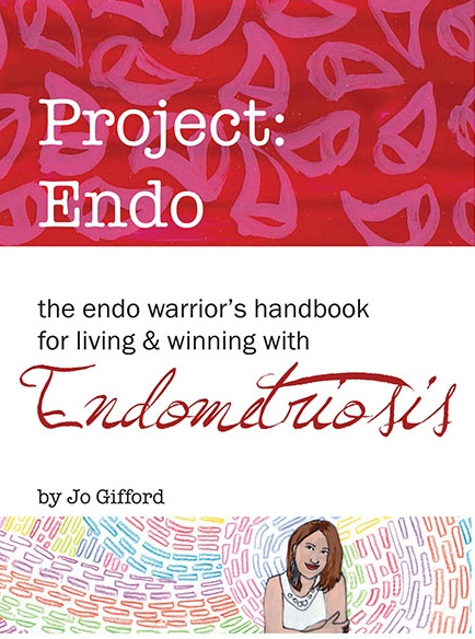 """This is an ebook from someone who knows exactly how it feels to battle with endometriosis daily.  http://projectendo.com"