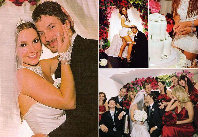 Britney Spears and Kevin Federline #Celebrity #Wedding