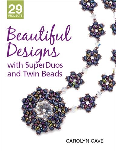 90 best my jewelry book reviews images on pinterest book reviews beautiful designs with superduos and twin beads by carolyn cave fandeluxe Images