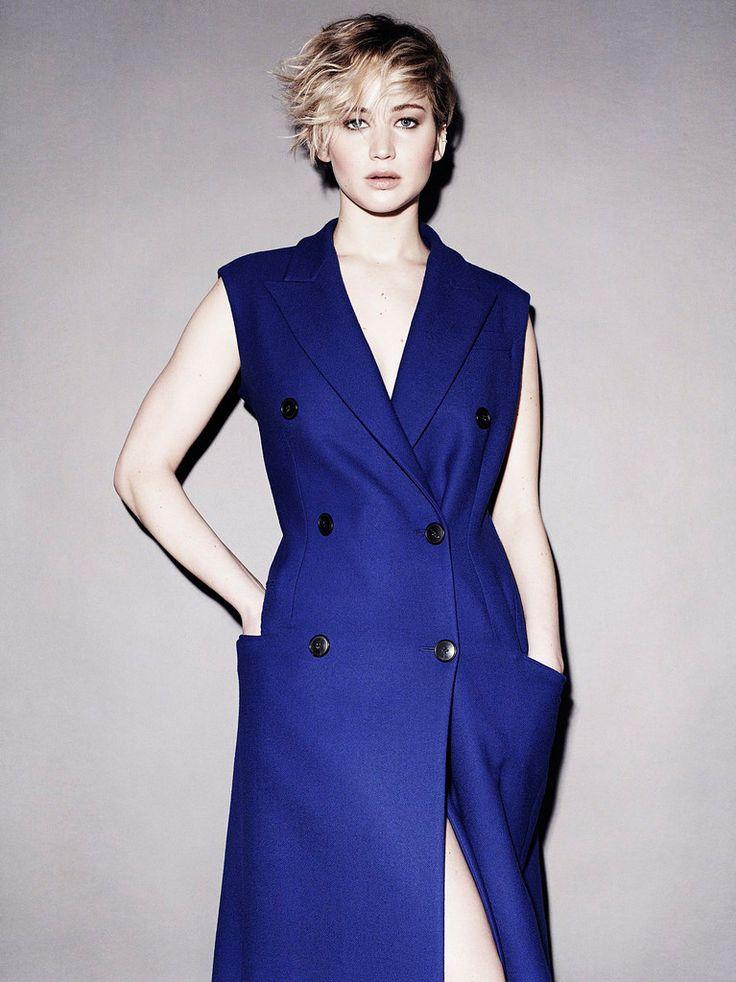 Дженнифер Лоуренс — Фотосессия для «Marie Claire» 2014 – 7