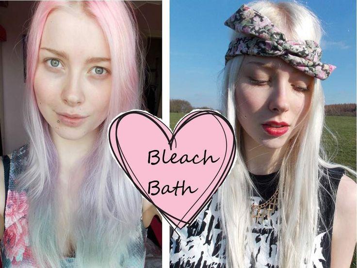 Removing hair colour - Bleach Bathing | Hair Tutorial