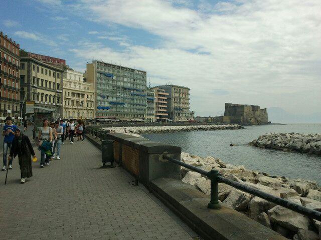 Via Caracciolo è una lunga ed ampia promenade di Napoli, che, fiancheggiando il Parco della Villa Comunale e la Riviera di Chiaia, costituisce (con via Nazario Sauro, via Partenope e via Acton) parte del lungomare della città.