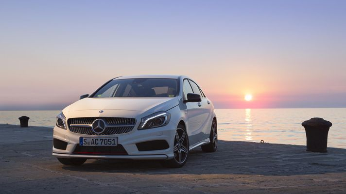 First drive: the new Mercedes A-Class - BBC Top Gear