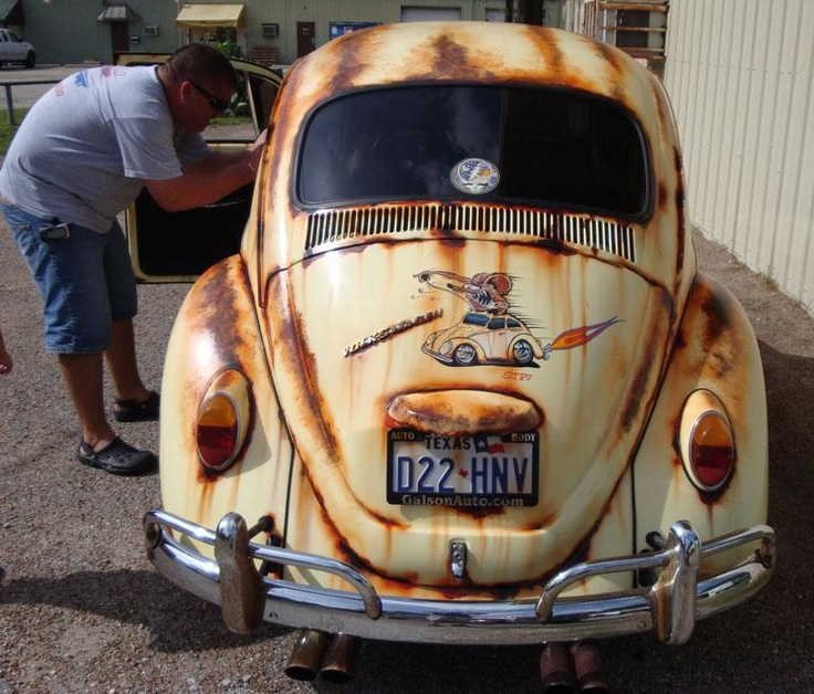 simulated rust paint job....... | Volkshwaggin ...