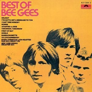 Bee Gees album covers - bliss