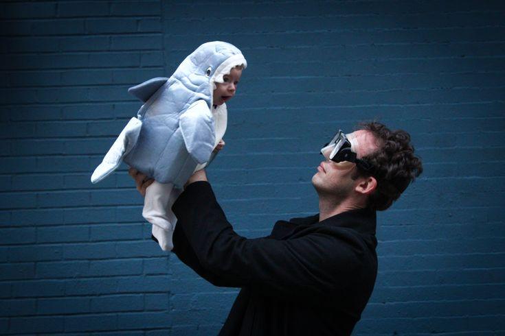 Happy Halloween! Baby shark costume