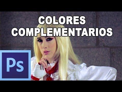 Efectos con colores complementarios - Tutorial Photoshop en Español por @Natalia P Tutoriales - YouTube