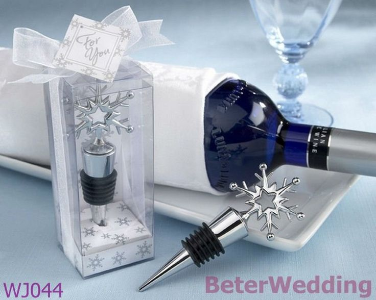 WJ044 Snowflake Bottle Stopper Kitchenware@BeterWedding Metal Crafts wholesale-in Crafts from Home & Garden on Aliexpress.com