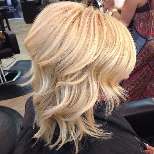 healthy blonde hair