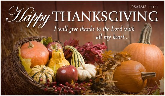 Happy Thanksgiving Thanksgiving Holidays eCards - Free Christian Ecards Online Greeting Cards: