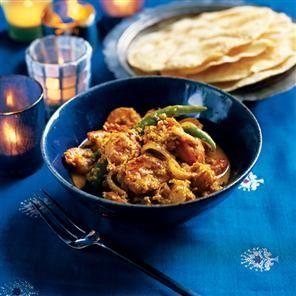 Masala jheenga (Goan prawn curry)