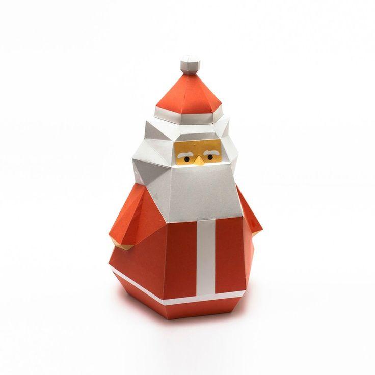 рождественские бумажные игрушки-украшения-01