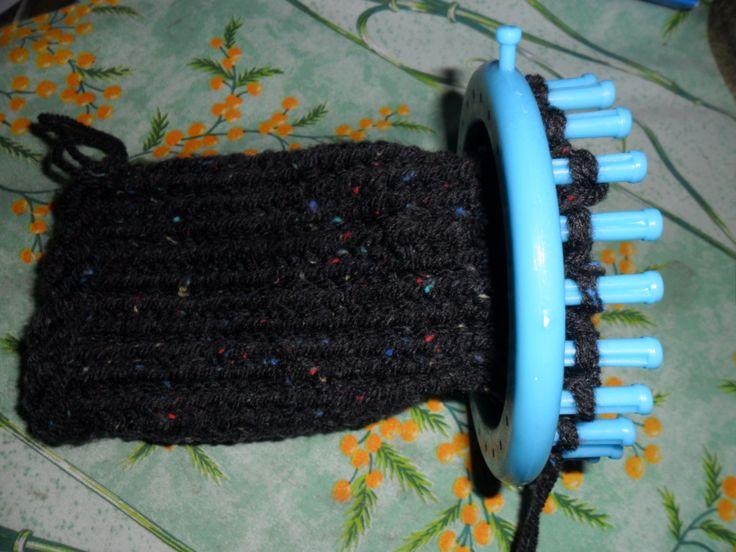 LE TRICOTIN GEANT BELGE: Comment faire des jambières ou guêtres avec un tricotin géant ?
