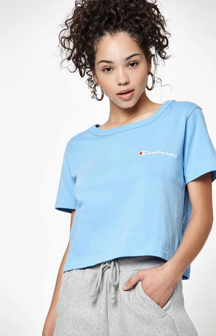 8766f81f16f36 Champion Cropped T-Shirt at PacSun.com