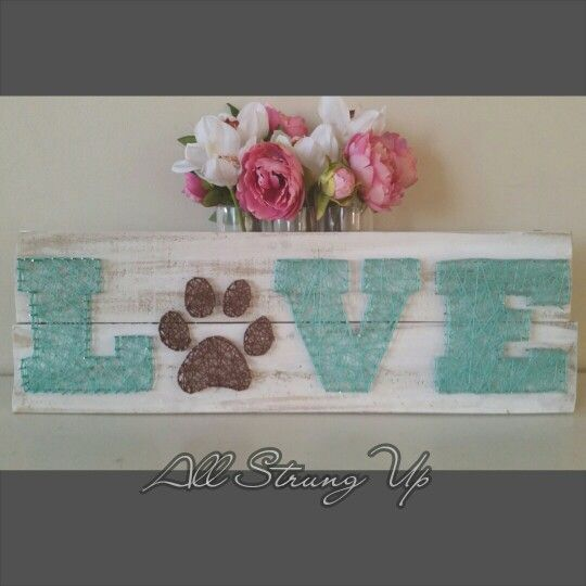 Love your dog string art. All Strung Up