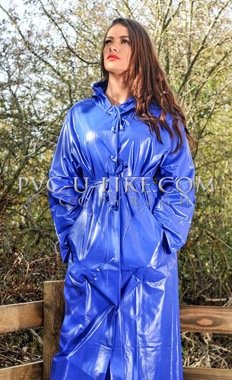 Clothing fetish plastic pvc guys