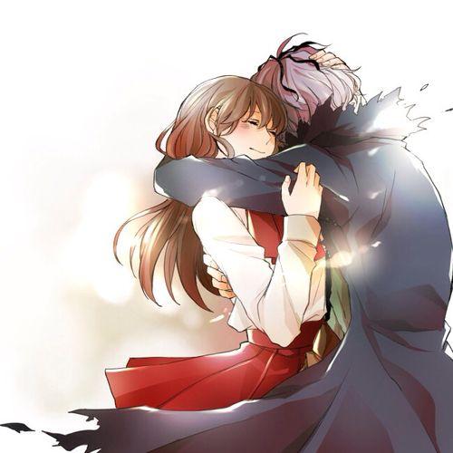 Ib game fanart ib and garry ib game - Anime hug pics ...