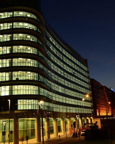 Green glass #building