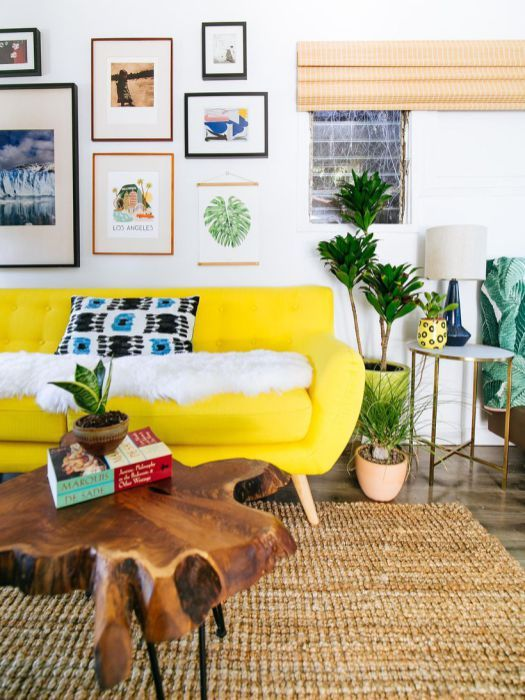 Inspiring Yellow Sofas To Perfect Living Room Color Schemes 24