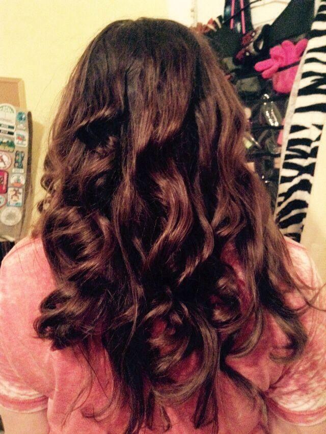 Tin foil hair curling