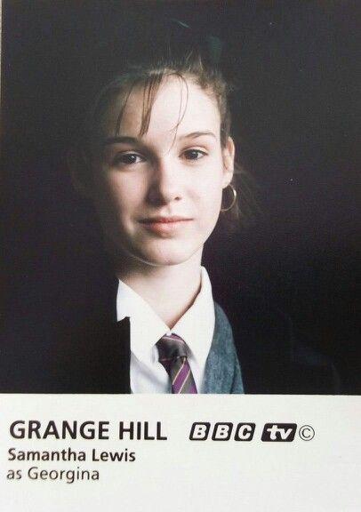 A very young Georgina.