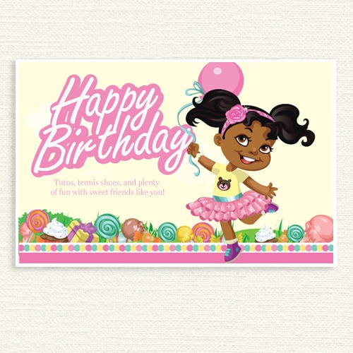 African American Princess Party Sign In 2019