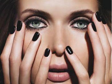 Black nail polish :)