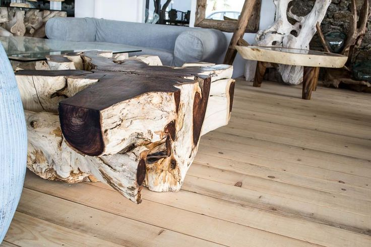 Burned table