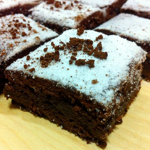 brownie, receita, fcil, simples, diferente, caf, chocolate meio amargo
