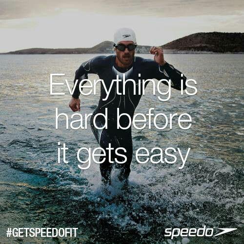 Triathlon motivation