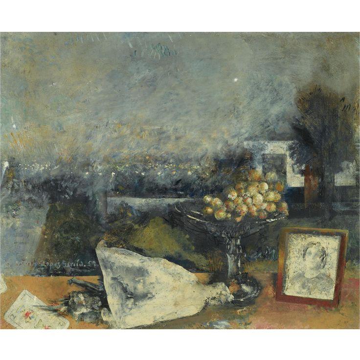 Antonio López García – Bodegón de las Afueras (Still life), 1957, oil on canvas, 50x60.5cm