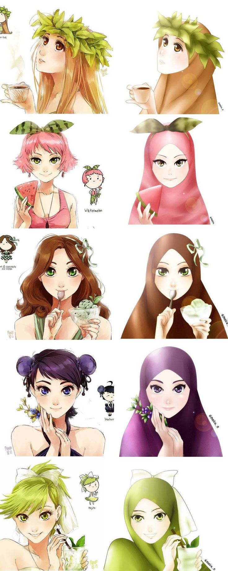 17 Best Images About Muslim Anime On Pinterest Muslim Women Web