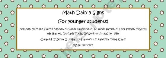 Math Daily 5 Signs3Rd 5Th Grade, Math, Farkle Games, Classroom Daily, Schools, Daily 5 Cafes, 6Th 8Th Grade, Classroom Ideas, 2Nd Grade