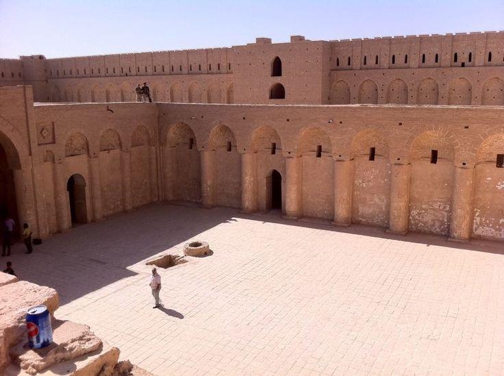 Al-Ukhaidir Fortress-Iraq-حصن الأخيضر - Uchaidir – Wikipedia