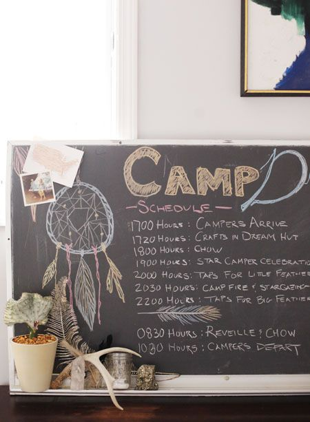 - Nectar and light. Beautiful girls party theme. Camp Dreamcatcher. Lots of pictures and ideas !!