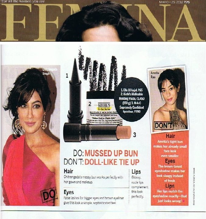 Chitrangada loves our Malleable Molding Paste that gives hair a fairly-firm, long-lasting hold with texture and separation.