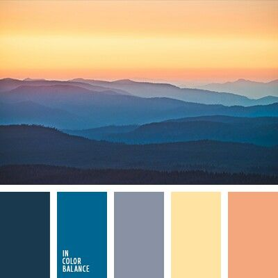 BLUE RIDGE MOUNTAINS, BY IN COLOR BALANCE